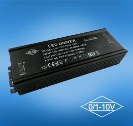 100w 0-10v led调光电源 IP65防水电源 100w恒流驱动器