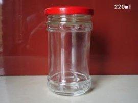 开发定制玻璃酱菜瓶,厂家直销玻璃酱菜瓶
