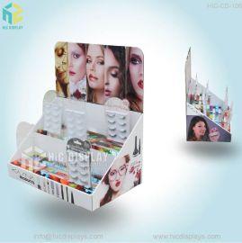 恒创定制假睫毛纸展示盒化妆品PDQ展示柜桌面PDQ盒