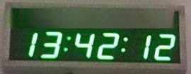 北京泰福特学校常用GPS网络遥控调节课堂电子时钟