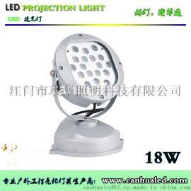 LED圆形方形投光灯18W 36W户外防水投射灯照树灯草坪景观灯