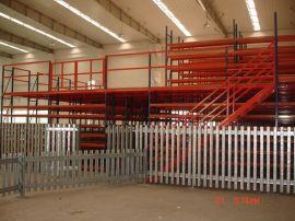 中山货架厂新款钢构组合阁楼货架LHZB公司