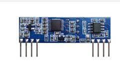 高灵敏度去噪声433MHZ ASK超外差无线接收模块