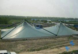 膜结构工程污水加盖|污水厂除臭遮阳布|奥宏