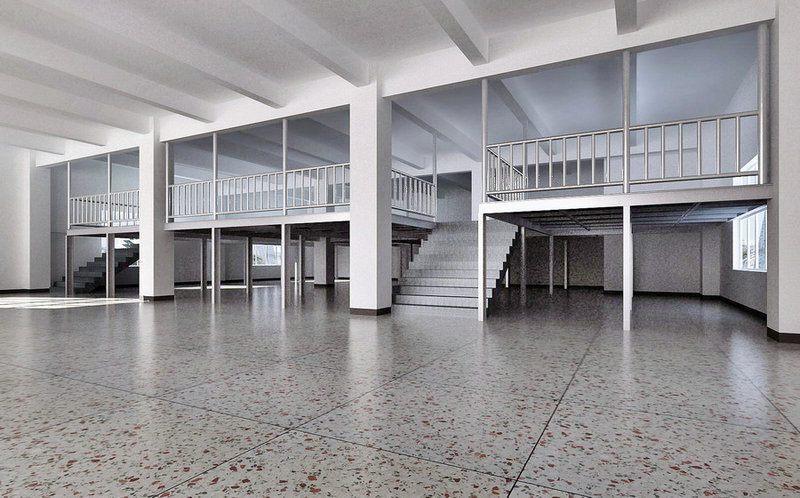 松岗钢结构厂房办公室阁楼装修,松岗装修公司