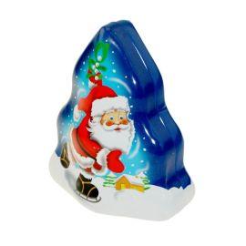供应马口铁圣诞树罐卡通糖果罐异形铁罐促销礼品挂件NC2758