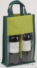 天然黄麻酒类包装袋,礼品袋,时尚购物袋