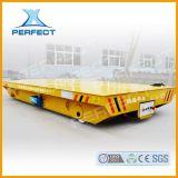 运输电柜外壳轨道电动平车20吨高载重低压轨道地轨搬运车