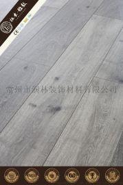 12毫米商用家用塑木強化復合層壓地板