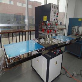 专业厂家喷丝pvc丝圈脚垫热合机设备,高频机生产基地