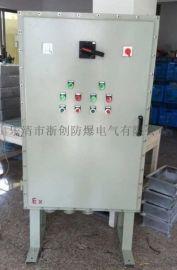 7.5KW防爆变频器控制箱带散热片