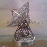 定制仿真 事桌面摆件工艺品 金屬雷达模型