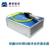 精锐世纪 创鑫激光 50W调Q脉冲光纤激光器MFP-50 50W光纤激光器