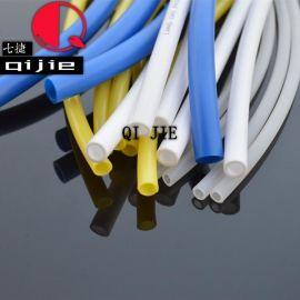 半透明/蓝色/白色/黄色PE管 各类尺寸聚乙烯管 净水器纯水机专用管PE塑料管