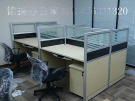 黄石厂家直销屏风隔断办公桌 老板办公桌 会议桌 前台