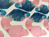 供應皮質PU皮革手袋印花機 帆布直噴數碼印表機