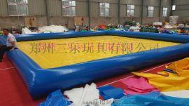 陝西榆林充氣池子遊泳池廠家銷售價