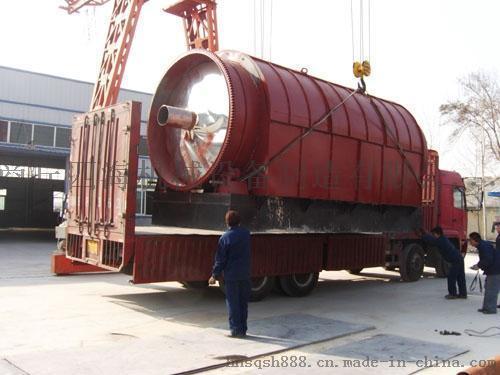 商丘四海LJ-10常压废旧轮胎裂解设备
