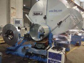 三本经济型固定模、钢带模一体螺旋风管机SBTF-1500B