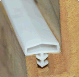 廠家直銷矽膠木門、衣櫃、鋁合金門窗密封條