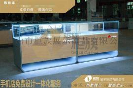 江西吉安新款華爲3.0手機櫃檯現貨_清新型3.0華爲體驗桌定做廠家