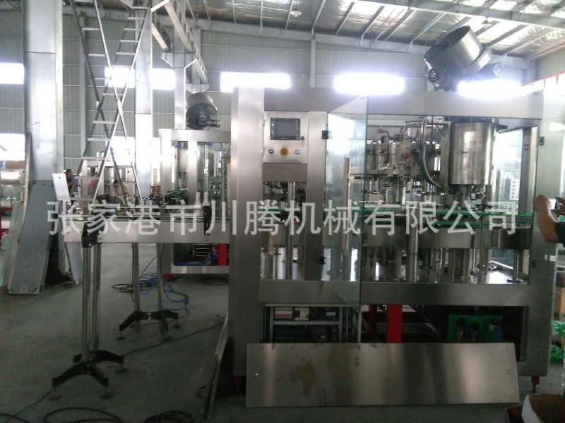 川腾机械 玻璃瓶啤酒灌装机 啤酒灌装生产线