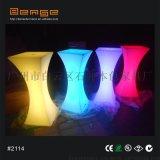 LED七彩發光雞尾酒吧桌酒會裝飾桌創意咖啡定制桌子