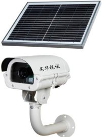 4G太阳能室外监控一体机,水利工地农业监测