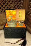 精品耀州瓷二件套 西安青釉倒流壶销售 公道杯