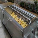 定做蔬果清洗机毛刷式喷淋清洗机 清洗干净1200型