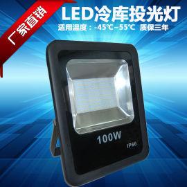 免驱动大功率LED冷库投光灯100W