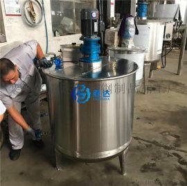 定制1吨不锈钢强力搅拌机密封胶白乳胶搅拌罐