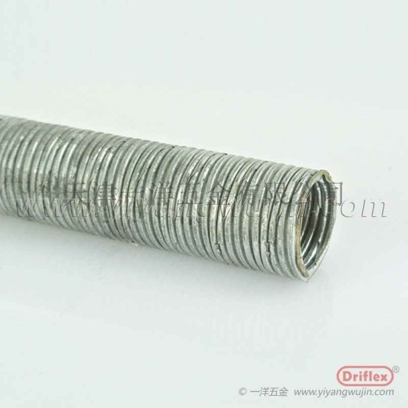 LZ-4普利卡裸管,可挠金属软管,建筑工地埋线管