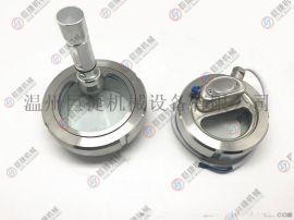 卫生级一体式活接视镜灯带电筒/不锈钢视镜灯观察口