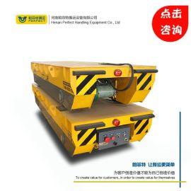 厂家直销 地铁轻轨平板车铁路建设轨道运输小车发电机式移动平车