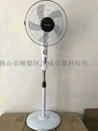 夏季**电风扇款式 落地式16寸电风扇