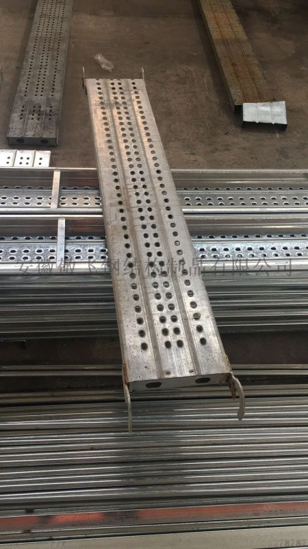 脚手架踏板 镀锌钢跳板 建筑跳板