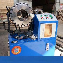 全自动钢管焊接机缩管机辽宁阜新48脚手架管焊接机