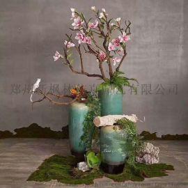 郑州枫林仿真花瓶小花瓶装饰造景