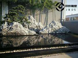 加工定做泰山石片-山型假山切片石-造景景观石