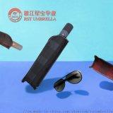 RST歐美商務格子晴雨傘三折8k抗風全自動傘