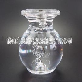 直销亚克力时尚美观水晶工艺品 有机玻璃气泡圆形