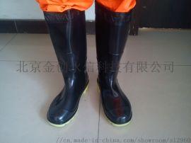 北京直供防汛雨鞋牛筋底质优价廉鞋号全