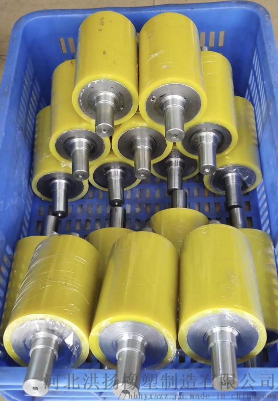 生產定製 高強度耐磨聚氨酯包膠輥 聚氨酯包膠輥廠家
