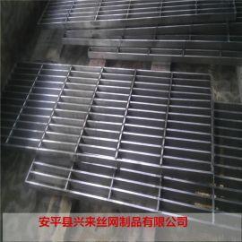 热镀锌格栅板 格栅沟盖板 踏步三角板