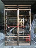 不锈钢家用酒店红酒架白酒柜展示柜定制