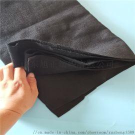 工程用黑色耐高温不燃烧无明火吸音棉 碳纤维隔音棉