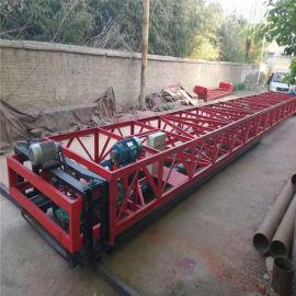 三滚轴摊铺机 6米带蛟龙的三辊轴整平机 沥青混凝土路面摊铺机