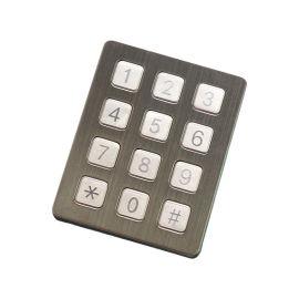 数字密码按键门禁对讲电话按键锌合金键盘