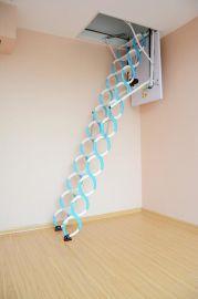 福建省质量好的伸缩楼梯家用折叠梯子